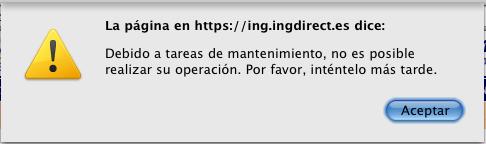 Aviso ING Direct